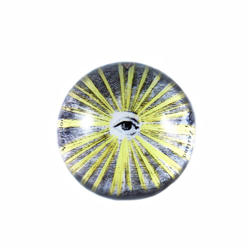 Paperweight: Eye Of Providence (Handmade). Made in New Zealand gift.