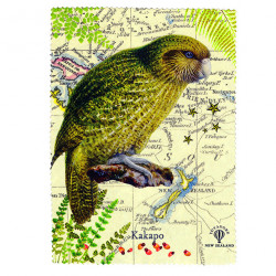 Lens and Screen Cleaning Cloth: Kakapo Parrot of New Zealand