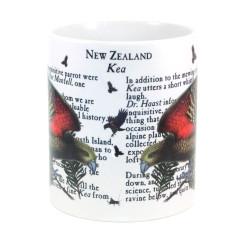 Mug: Kea Parrot Of New Zealand (White Mug)