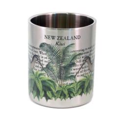 Mug: Kiwi Of New Zealand (Stainless Steel Mug)