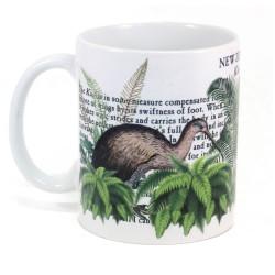 Mug: Kiwi Of New Zealand (White Mug)