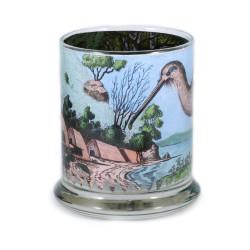 Pen Pot: Kiwi and New Zealand Seashore (Handmade)