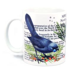 Mug: Kokako Of New Zealand (White Mug)