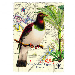 Lens and Screen Cleaning Cloth: New Zealand Pigeon