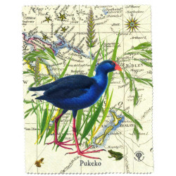 Lens and Screen Cleaning Cloth: Pukeko Of New Zealand