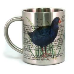 Mug: Takahe Bird of New Zealand (Stainless Steel Mug)