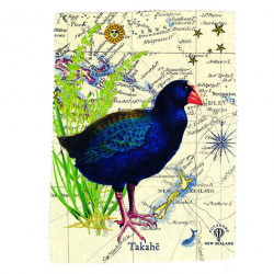 Lens and Screen Cleaning Cloth: Takahe Bird of New Zealand