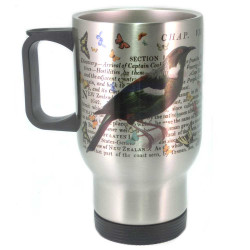Mug: Tui & Captain Cook's Discovery of New Zealand (Travel Mug)