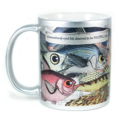 Mug: Extraordinarily Eyed Fish of the Pacific, 1769 (Sparkling Silver Mug)