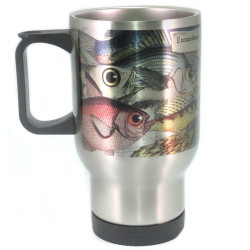 Mug: Extraordinarily Eyed Fish Observed in The Pacific, 1769 (Travel Mug)