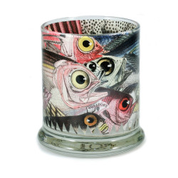 Pen Pot: Extraordinarily eyed Fish Observed in The Pacific, 1769 (Handmade)