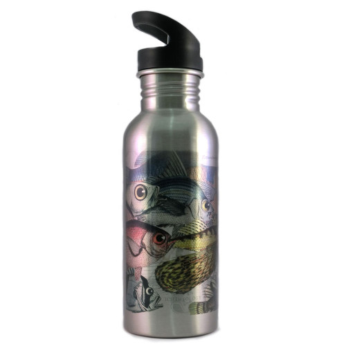 Water Bottle:Extraordinarily Eyed Fish In The Pacific, 1769 (Silver)