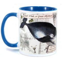 Mug: Right Whale or Great Mysticete (Colored Inner & Handle)