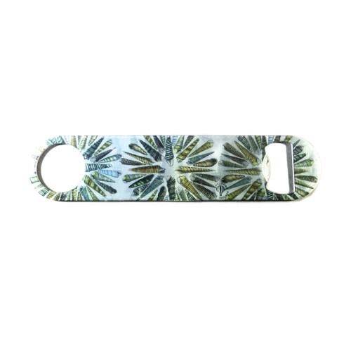 Bottle Opener: Turret Seashells of New Zealand (Stainless Steel)