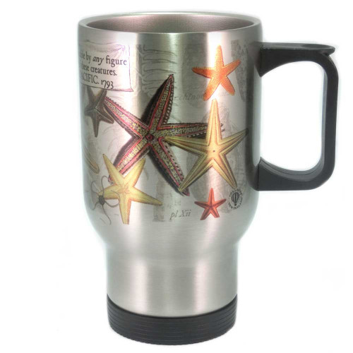 Mug: Starfish Found in The Pacific Ocean, 1793 (Travel Mug)