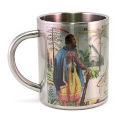 Mug: From Tahiti to New Zealand. HMS Endeavour 1769 (Stainless Steel Mug)
