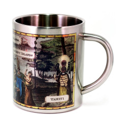 Mug: Inhabitants of the South Sea Islands (Stainless Steel Mug)