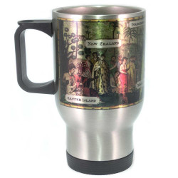 Mug: Inhabitants of the South Sea Islands (Travel Mug)