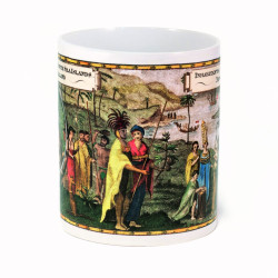 Mug: Inhabitants of the South Sea Islands: New Zealand (White Mug)